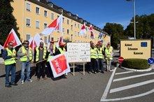 Protest Stationierungsstreitkräfte