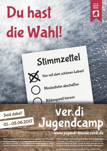 Plakat Jugendcamp