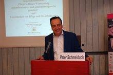 Peter Schmeiduch vom Ministerium für Soziales und Integration Baden-Württemberg