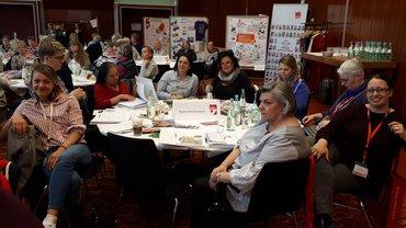 Baden-Württemberger Frauen auf der Bundesfrauenkonferenz 2019