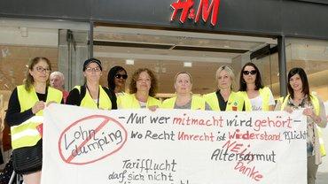 H&M im Streik 2019